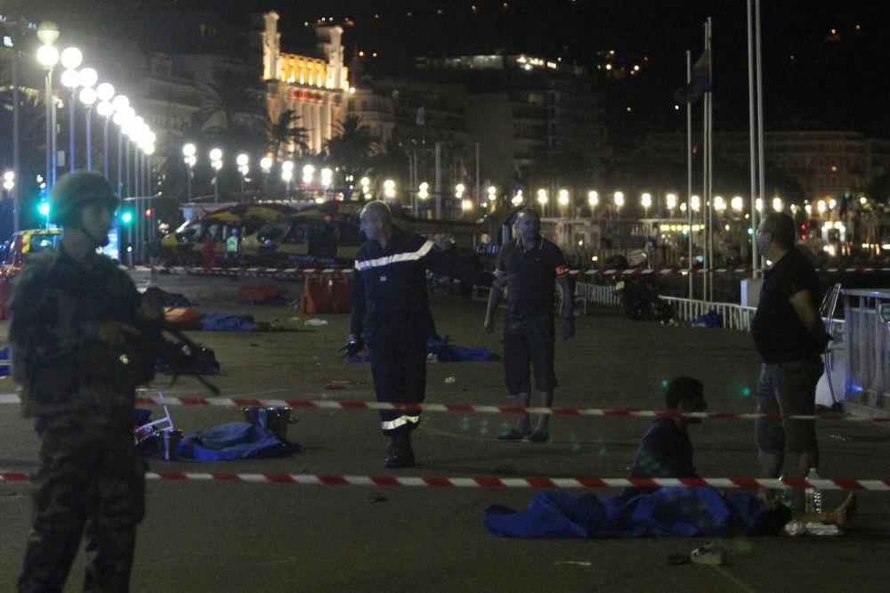 Primeras imágenes tras el atentado en Niza: Quería matar al mayor número posible de personas