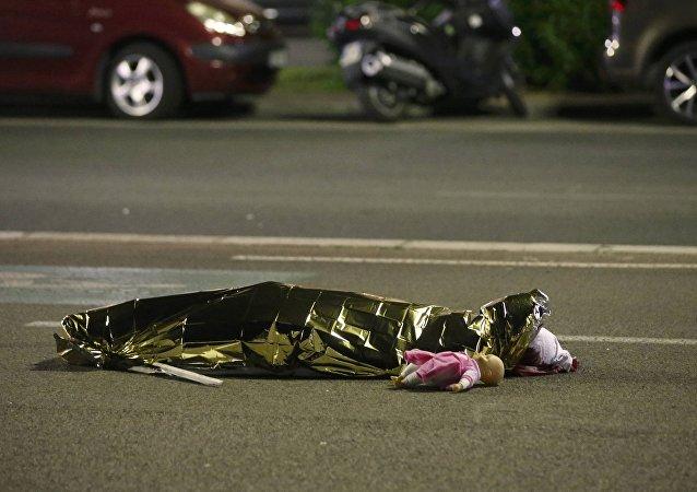 Víctima del atentado en Niza
