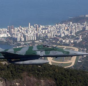 Un avión de las Fuerzas Aéreas brasileñas