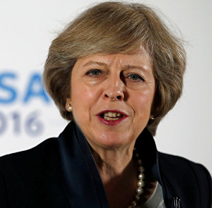 Theresa May, primera ministra británica (archivo)