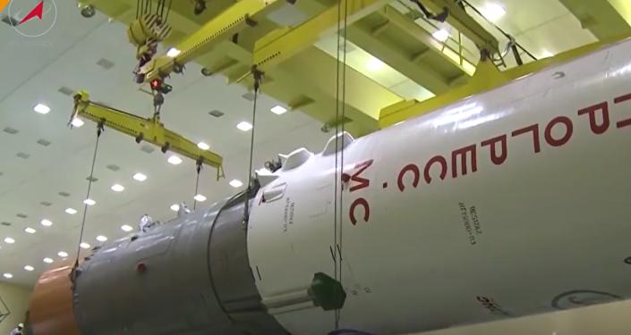 Así se ensamblan las naves espaciales rusas