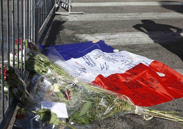 El homenaje a las víctimas del atentado de Niza