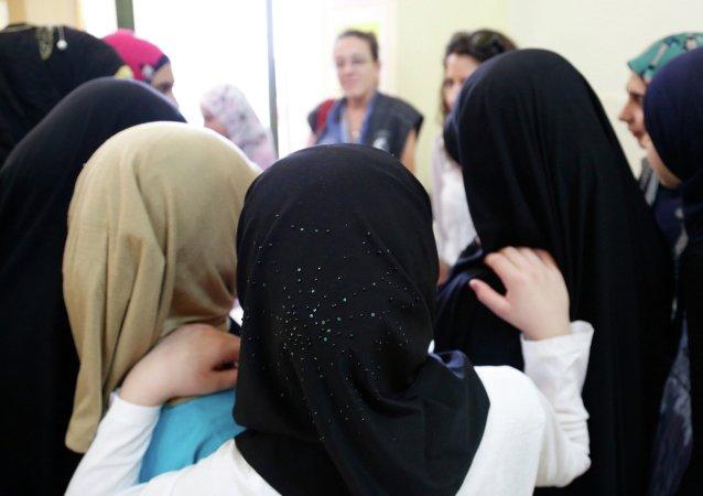Mujeres de Siria