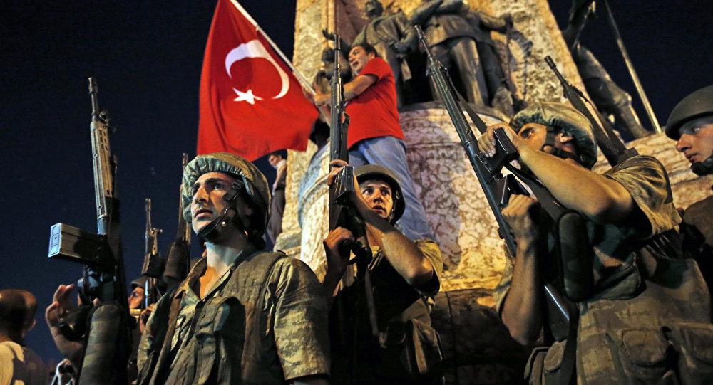 El golpe de estado en Turquía