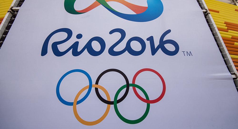 El logo de JJOO en Río