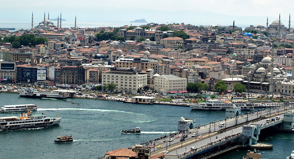Estambul, la capital de Turquía