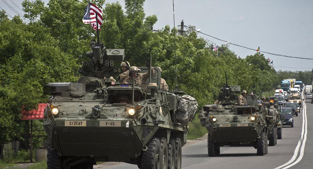 Veículos armados de EEUU