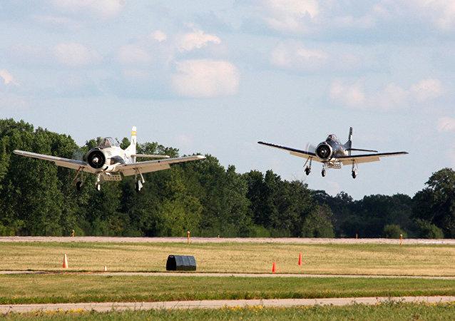 Aviones T-28 Trojan