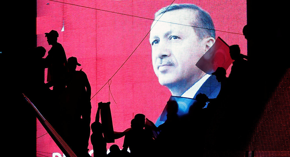 Recep Tayiip Erdogan, el presidente de Turquía