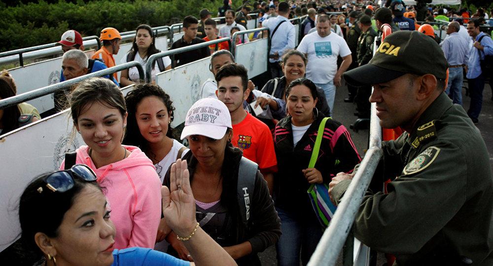 Frontera entre Venezuela y Colombia (archivo)