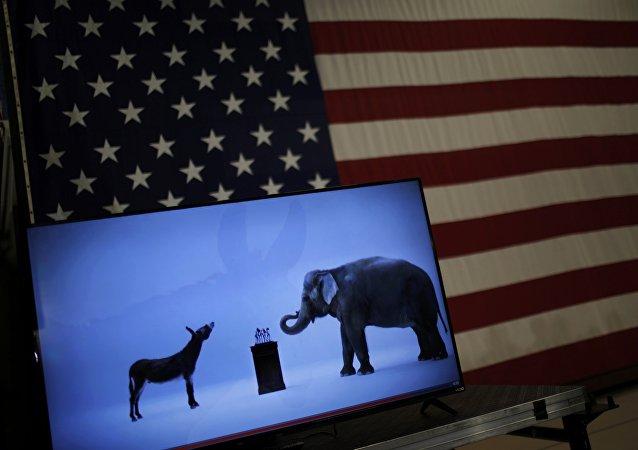 Símbolos de los partidos políticos de EEUU