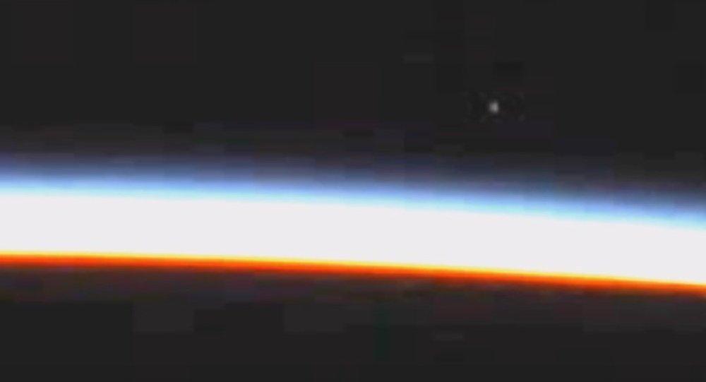 Un supuesto ovni capturado por la NASA