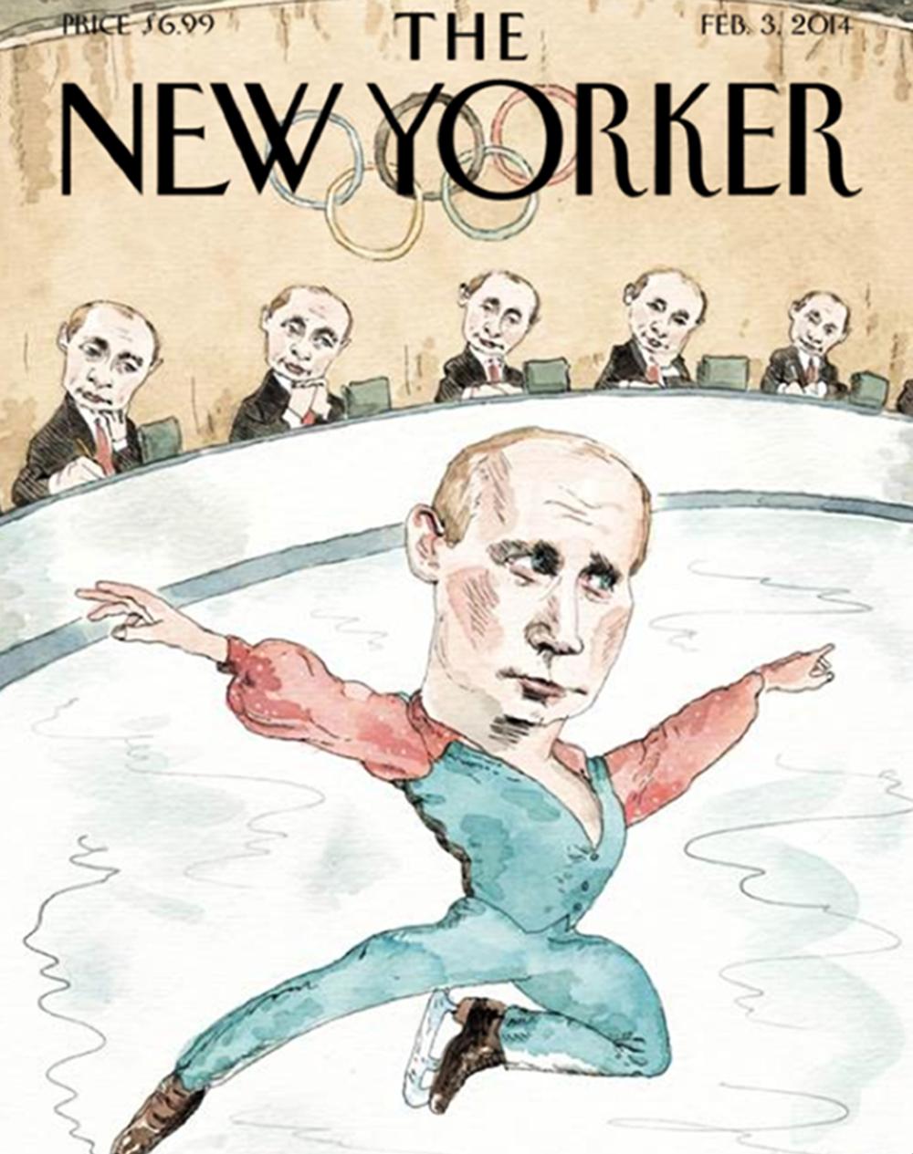 La portada de The New Yorker del 3 de febrero de 2014