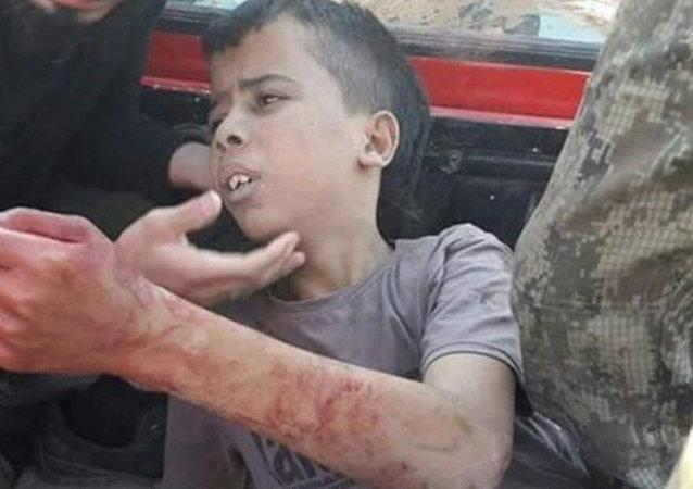 El niño ejecutado por los rebeldes sirios