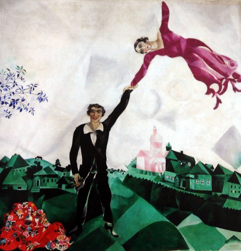 'Paseo', por Marc Chagall