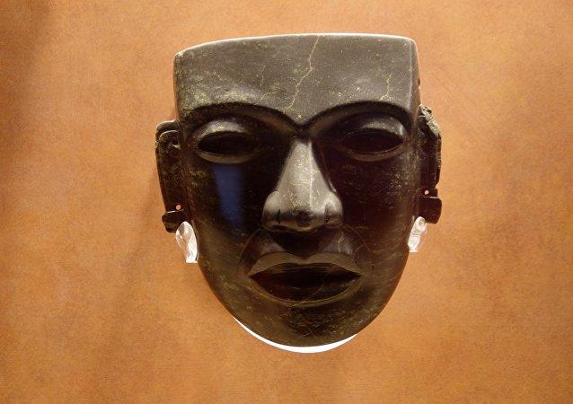 La máscara precolombina