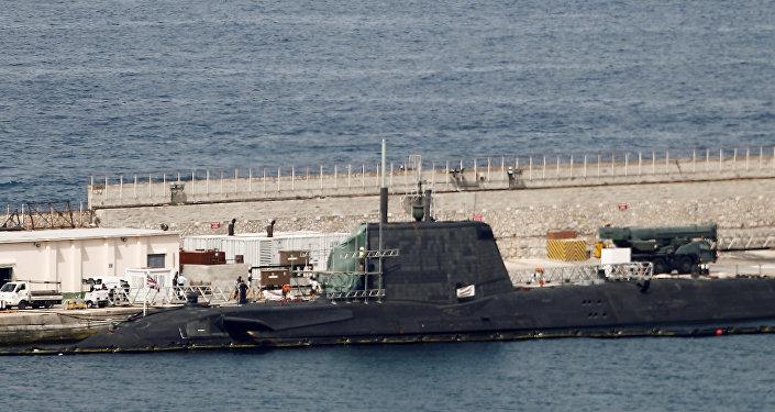 Submarino nuclear británico Ambush