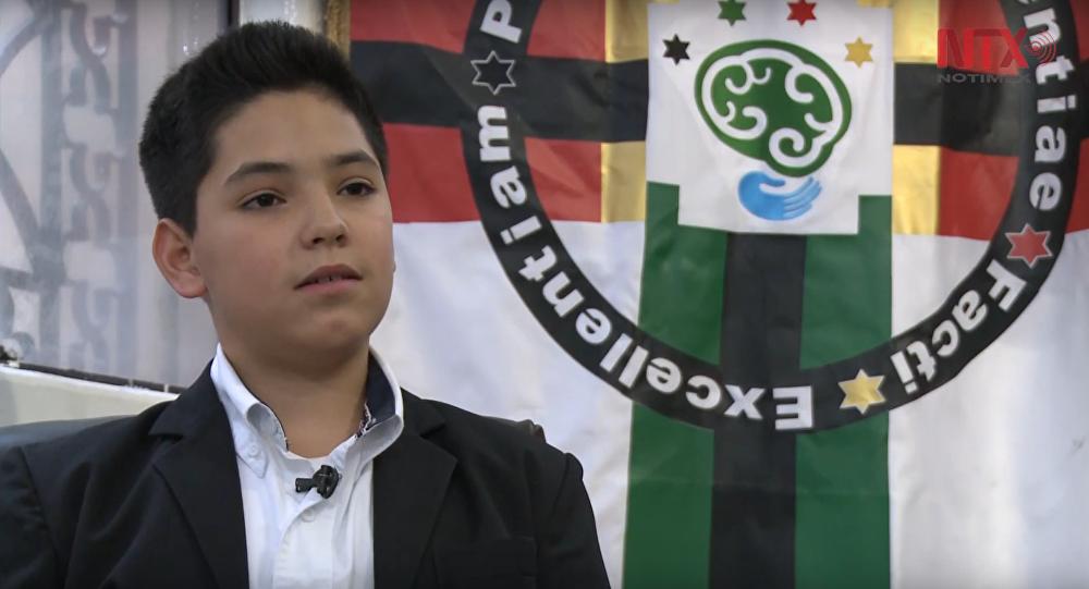 Carlos Nieto, el niño genio que quiere estudiar nanotecnología