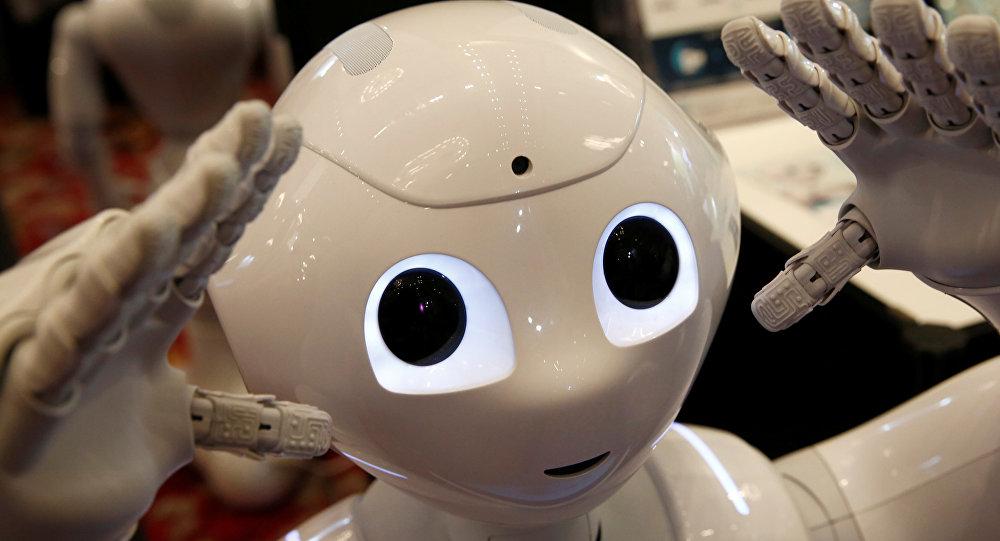 Imagenes De Un Robot Romantico