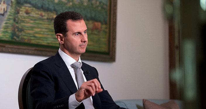 El presidente sirio Bashar al Asad