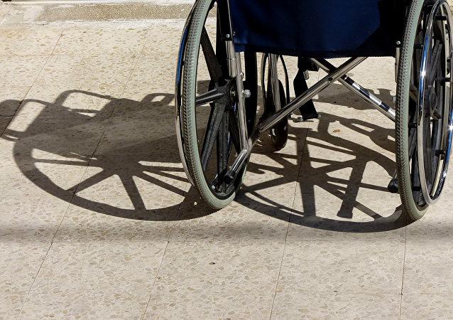 Una silla de ruedas (imagen referencial)