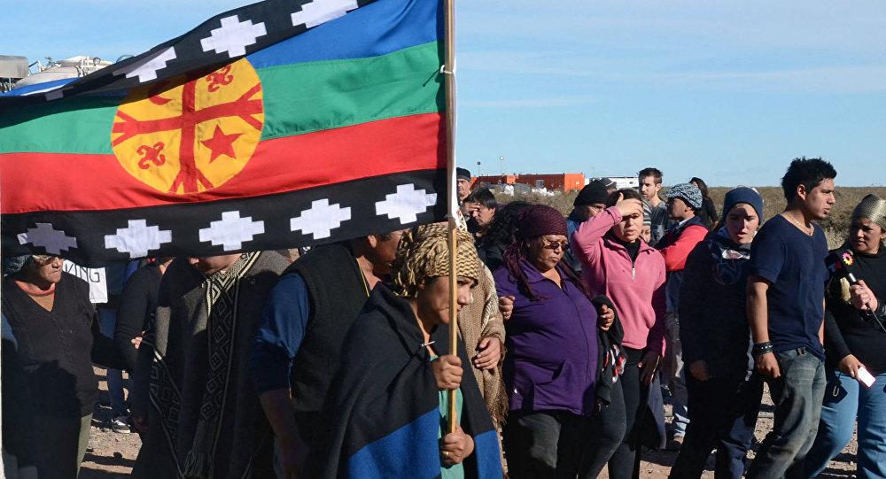 Protestas de la comunidad Mapuche (Archivo)