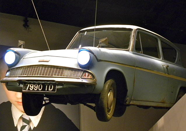 Estudio de Harry Potter. El coche volador de Mr Weasley's