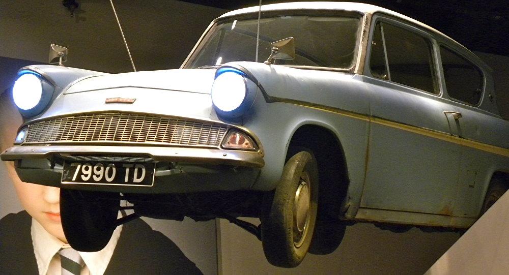 Estudio de Harry Potter. El coche volador de Mr Weasley's