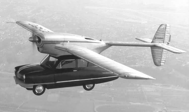 El coche volador modelo 118 ConvAirCar
