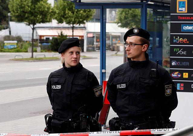 Los policías alemanes (archivo)