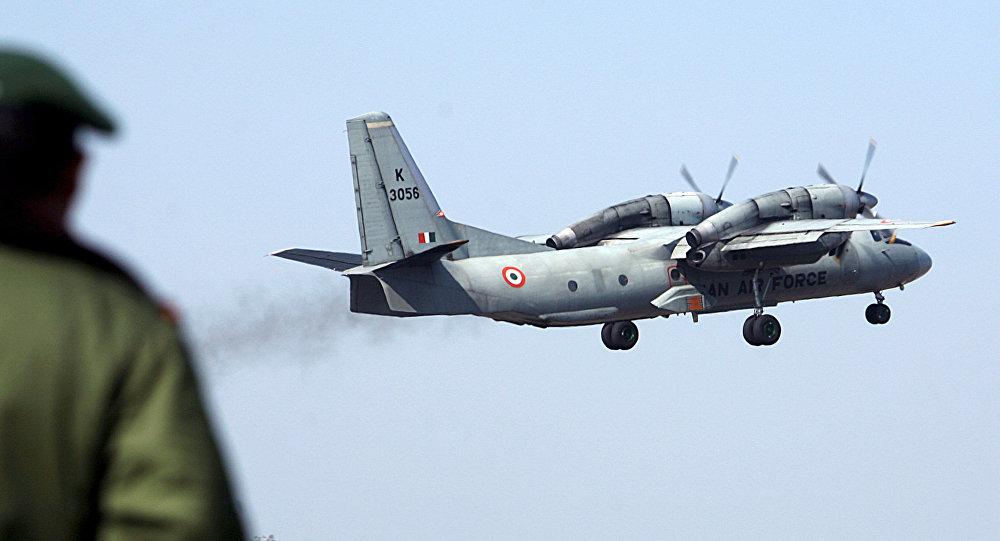 Un avión An-32 de la Fuerza Aérea de la India (archivo)
