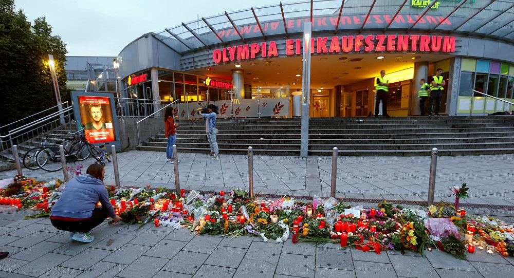 Lugar del tiroteo en Múnich
