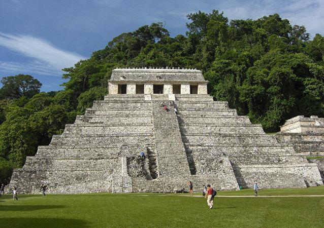 Templo de las Inscripciones de Palenque, México