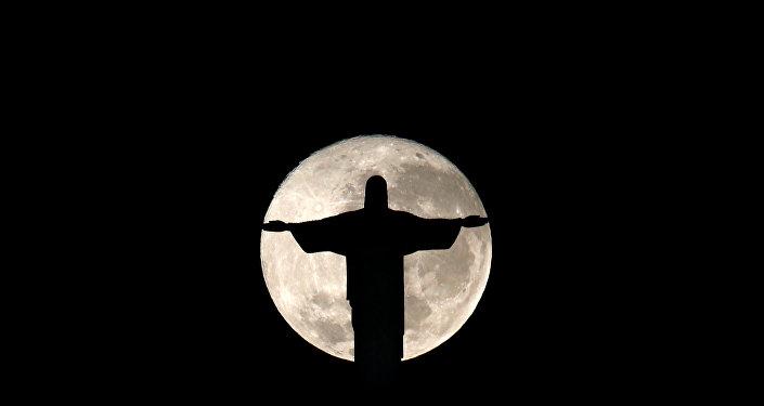 La estatua del Cristo Redentor en Río de Janeiro