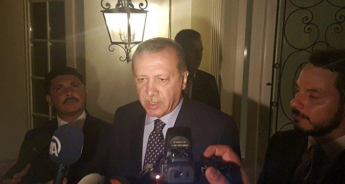 Recep Tayyip Erdogan, presidente de Turquía en Marmaris