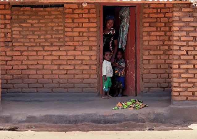 Familia en Malaui