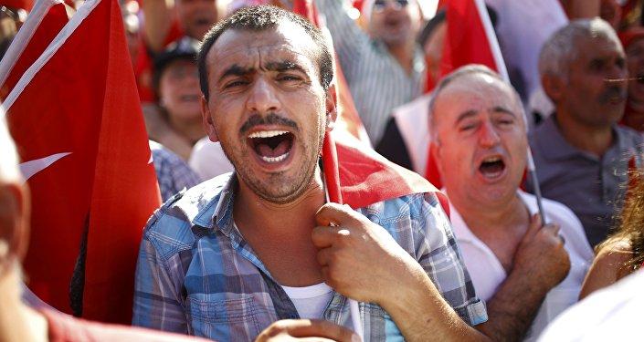 Protestas en Turquía tras la intentona golpista (archivo)