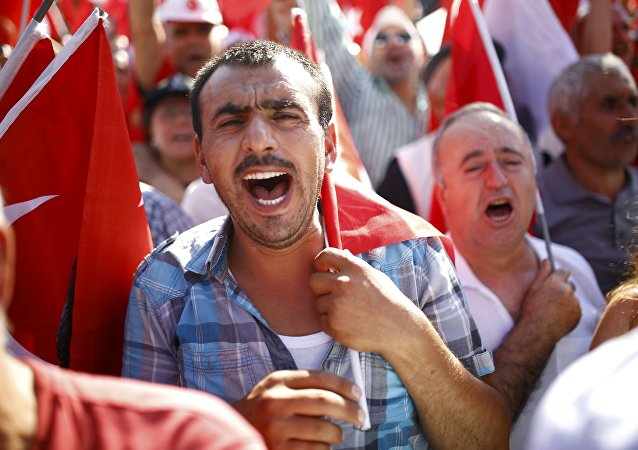 Demonstraciones en Turquía tras la intentona golpista