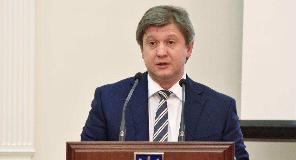 Alexandr Daniliuk, ministro de Finanzas de Ucrania