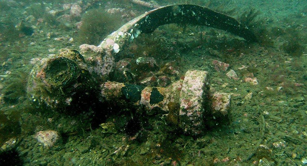 Rescatan un caza soviético de las profundidades del mar Negro