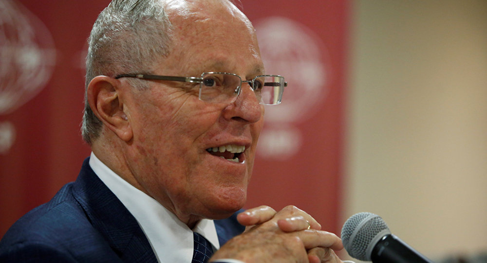 Pedro Pablo Kuczynski, presidente electo de Perú