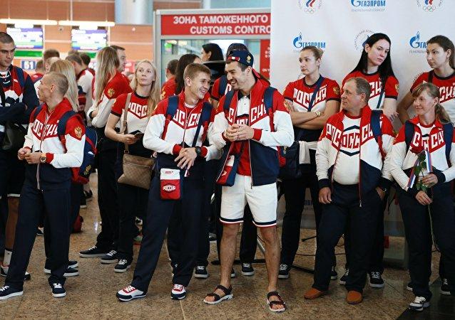 La delegación olímpica de Rusia