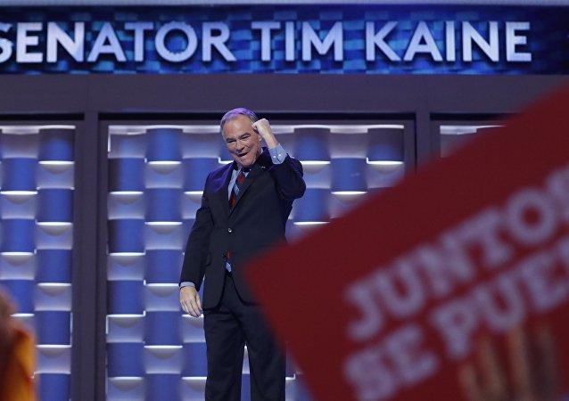 Tim Kaine habla español en su discurso de aceptación como vicepresidente