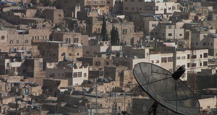 El asentamiento judío de Kiryat Arbaa junto a la ciudad de Hebrón, en la Cisjordania ocupada