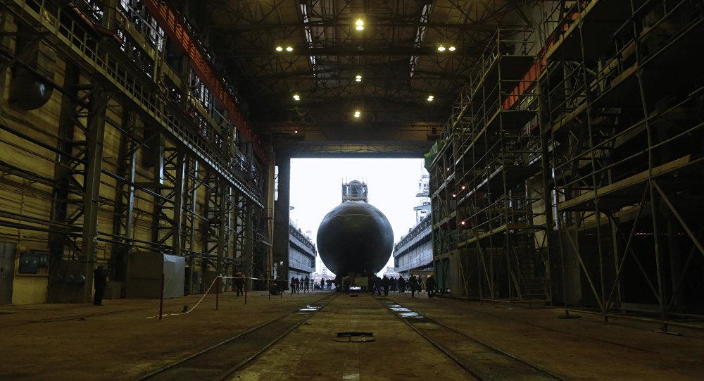 El astillero de San Petersburgo