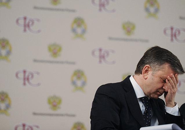 Mijaíl Zurábov, ex embajador de Rusia en Ucrania (archivo)