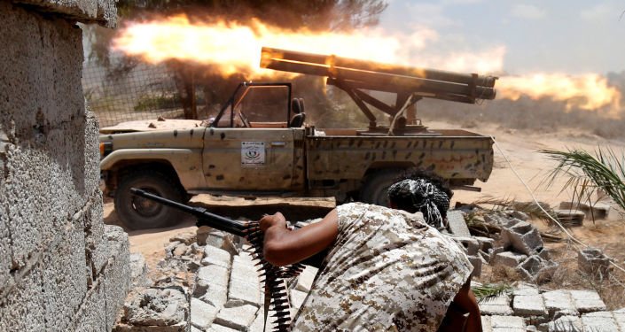 Las fuerzas libias luchan contra los terroristas de Daesh (archivo)
