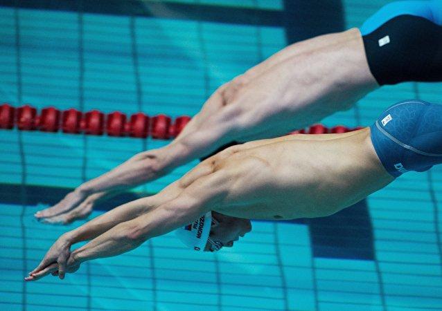 Los nadadores (archivo)
