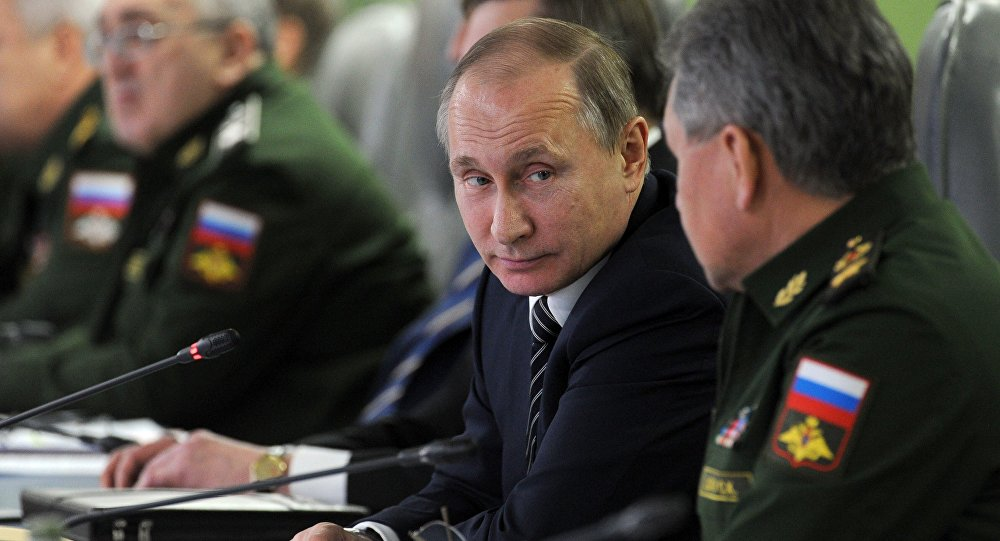 Vladímir Putin, prsidente de Rusia