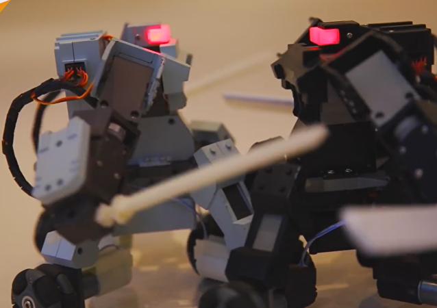 Los robots bélicos llegan a tu móvil